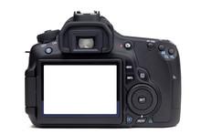 DSLR Camera Rear View