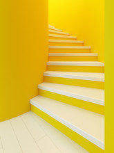 Spiral Wooden Staircase,