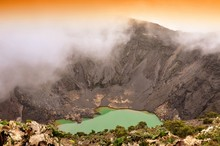 Volcan Irazú En Costa Rica