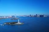 Fototapeta New York - Widok na Nowy York z lotu ptaka