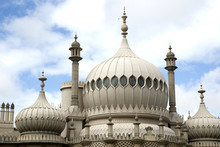 The Dome On The Famous Landmark Of  Bighton Pavilion In England