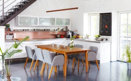 Vászonkép modern kitchen