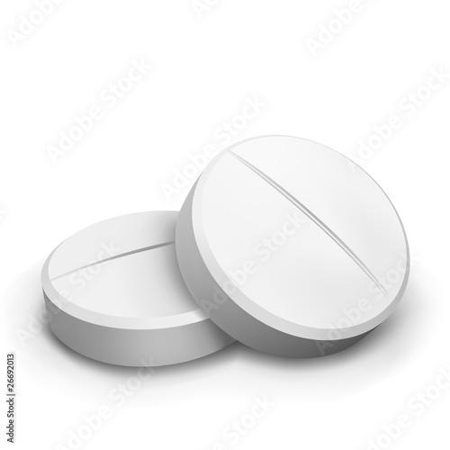 Fotografia  vector two tablets
