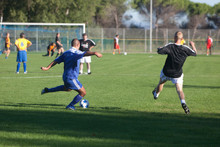 Match De Football Amateur