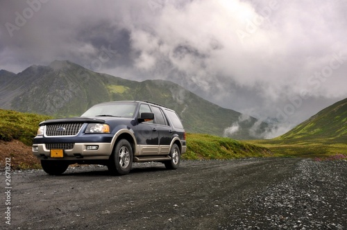 Alaska Car Tablou Canvas