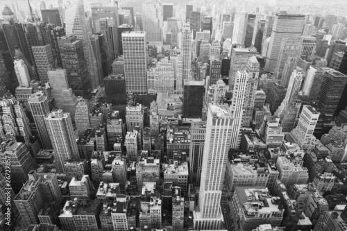 Nowy Jork: gród oglądany z góry Empire State Building