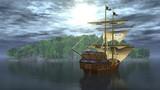 Piraten auf der See