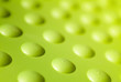 canvas print picture - green plastic surface