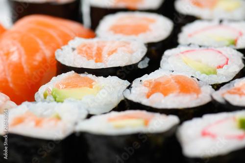 Poster Sushi bar Sushi