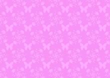 Pink Damask Wallpape Pattern