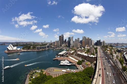 Foto op Canvas Vestingwerk View of Sydney
