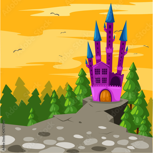 Poster Castle Castle