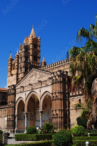 In de dag Palermo Cathédrale de Palerme