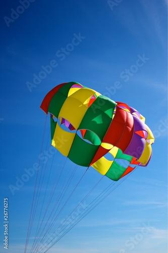 Foto op Canvas Luchtsport Colorful Parachute