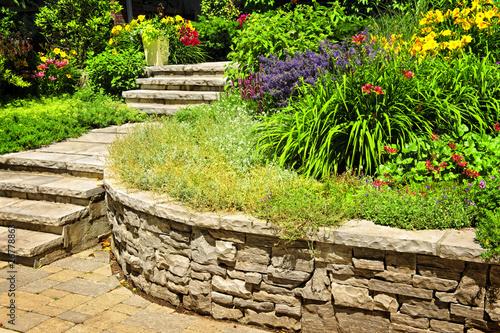 Papiers peints Beige Natural stone landscaping