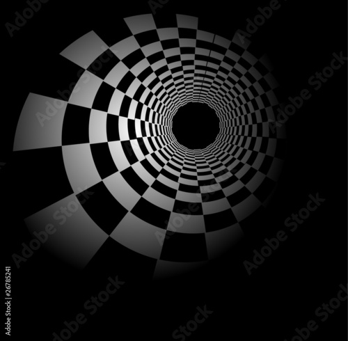 Stylowe plakaty  radial-szachy-w-tle
