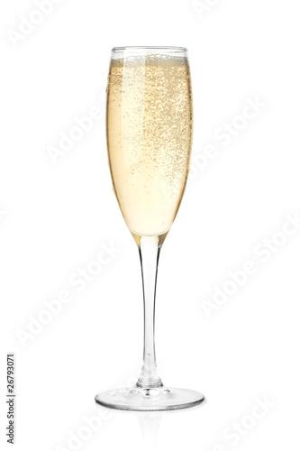 Fotografie, Obraz  Champagne in a glass
