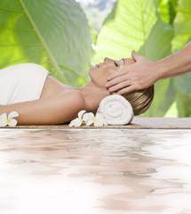 Panel Szklany massage