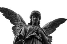 Engel Grabfigur