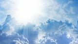 Fototapeta Na sufit - Light from heaven