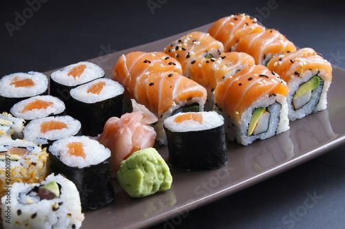 Foto op Plexiglas Sushi bar Cuisine Japonaise