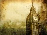 Fototapeta Londyn - Old London