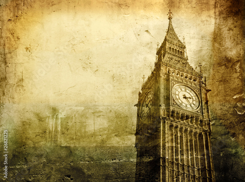 Foto op Canvas Londen Old London