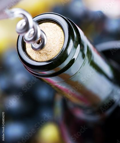 Fototapety do restauracji   butelka-wina-zblizenie