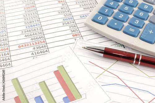 Accounting Canvas Print
