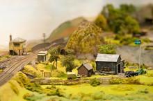 Miniature Model Rural Landscape