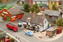 British Model Village Street Detail