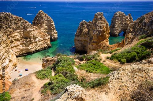 Printed kitchen splashbacks Coast Algarve rock - coast in Portugal