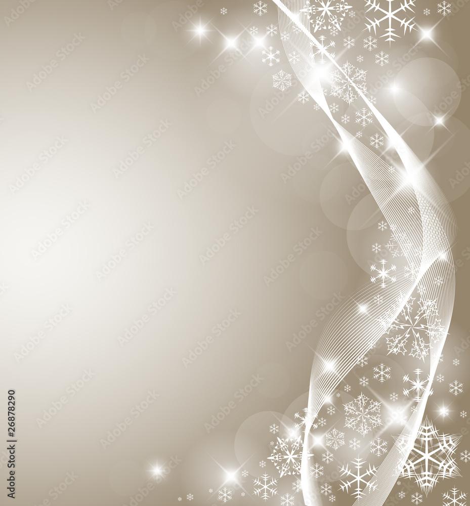 Foto-Doppelrollo - Abstract Christmas card