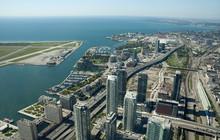 Aerial View Of Toronto Center