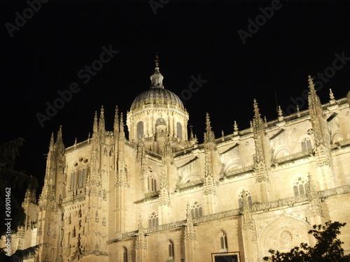 Fotografie, Obraz  Catedral Nueva de Salamanca