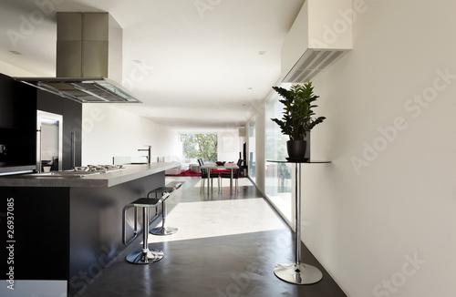 Obraz na plátně  interno di una casa moderna