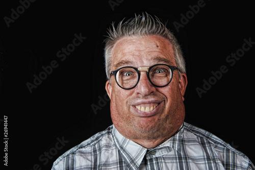 Fotomural Nerd man