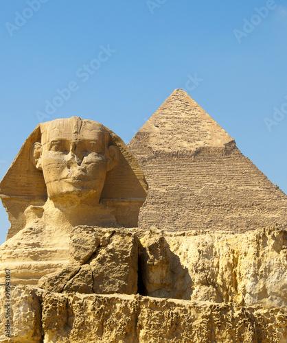 Tuinposter Egypte Sphinx