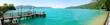 canvas print picture - Attersee no.1