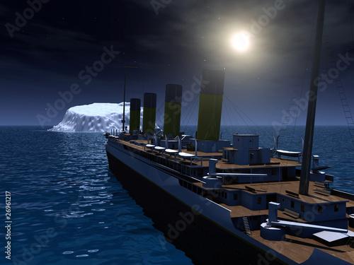 Titanic Wallpaper Mural