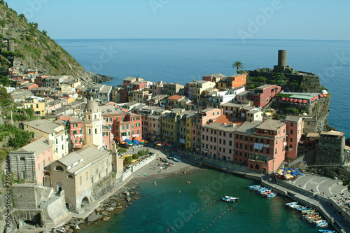 Poster Northern Europe italy cinque terre vernazza