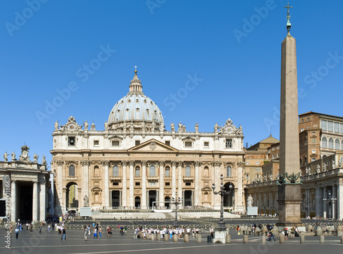 Plakat Bazylika Świętego Piotra, Watykan, Rzym