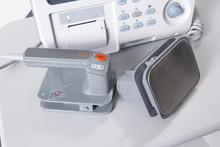 Modern Digital Emergency Defibrilator Equipment
