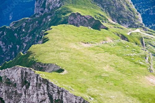 Fototapeta julian alps in the summer, slovenia obraz