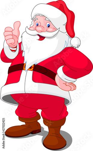 In de dag Sprookjeswereld Happy Christmas Santa
