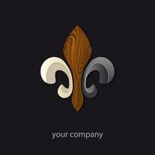 Logo Entreprise, Fleur De Lys