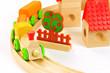 Eisenbahn aus Holz für Kinder