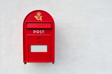 Danish Red Post Box