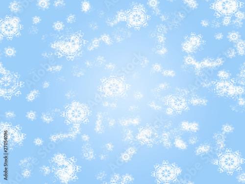 Fototapeta snow background obraz