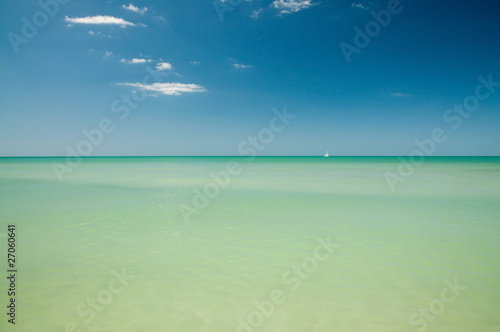 Valokuva  Calm water of Gulf of Mexico
